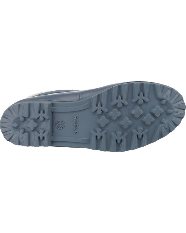 AIGLE Polka Giboulee Stiefel blau