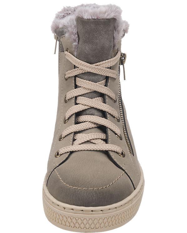 rieker Sneakers grau