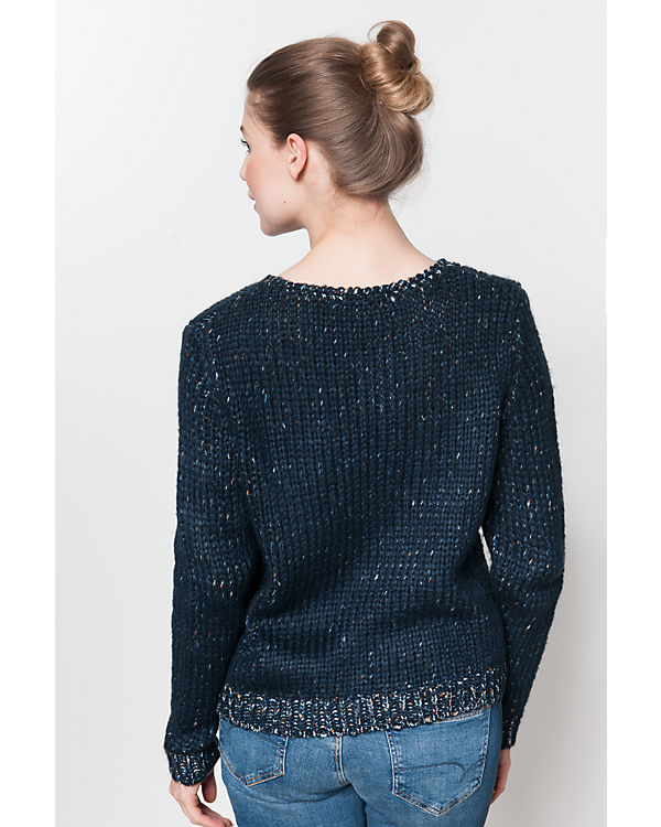 TOM TAILOR Denim Pullover dunkelblau