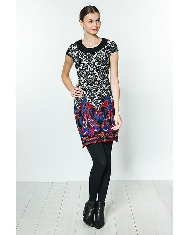 Anna Field Kleid schwarz/weiß