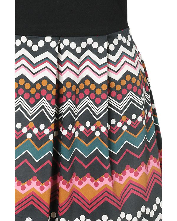Anna Field Kleid schwarz/pink