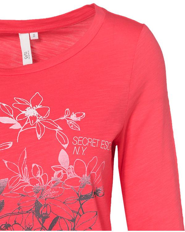 Q/S 3/4-Arm-Shirt pink
