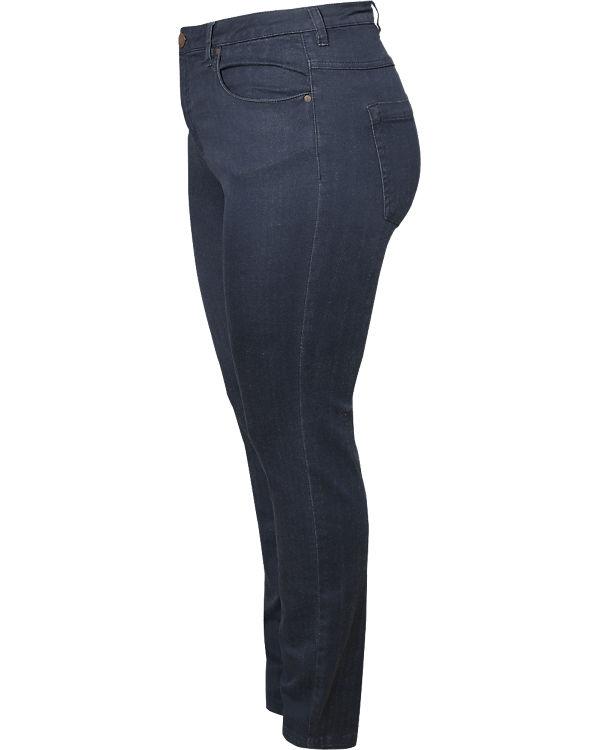 Zizzi Jeans Emily Slim dunkelblau