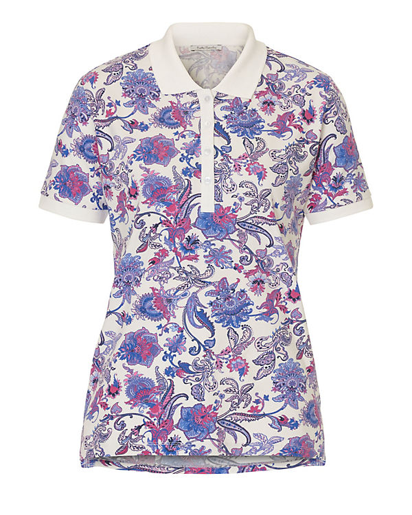 Betty Barclay Poloshirt weiß-kombi