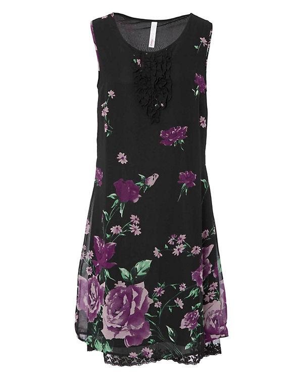 sheego Kleid schwarz