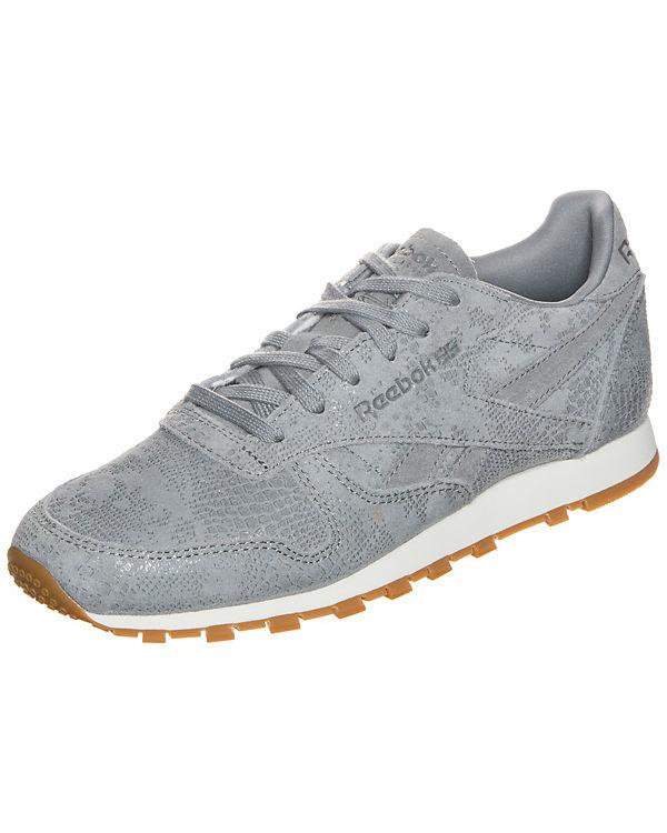 Reebok Classic Reebok Classic Leather Clean Exotics Sneaker grau