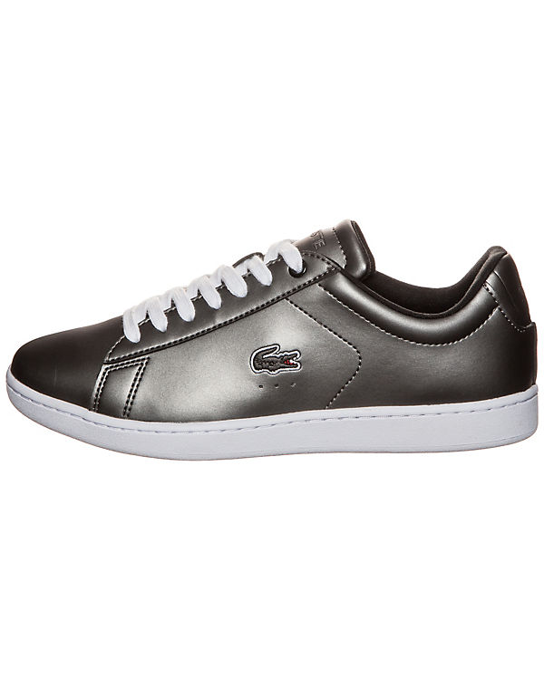 LACOSTE Carnaby Evo Sneaker grau