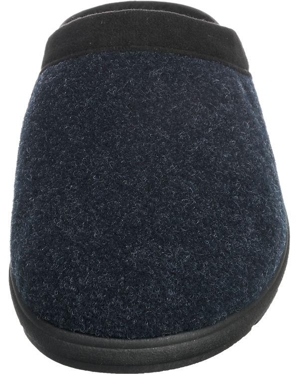 Franken-Schuhe Hausschuhe blau