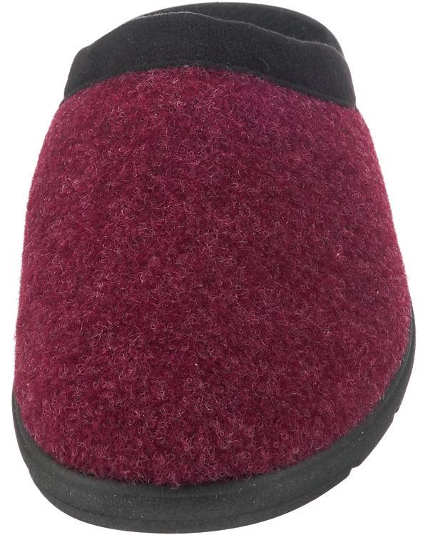 Franken-Schuhe Hausschuhe rot