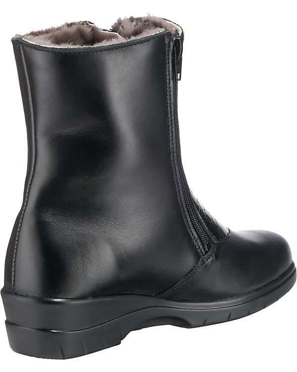 Franken-Schuhe Stiefeletten schwarz