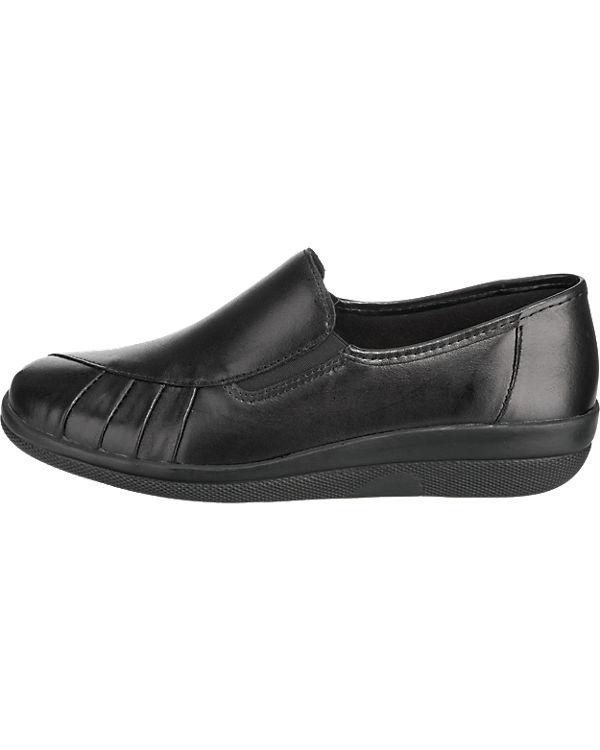 Franken-Schuhe Slipper schwarz