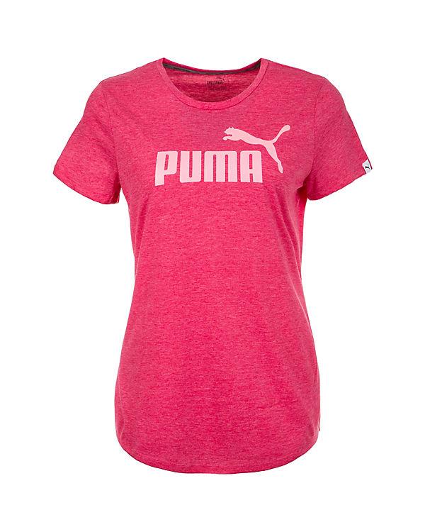 PUMA T-Shirt Essential No. 1 rosa