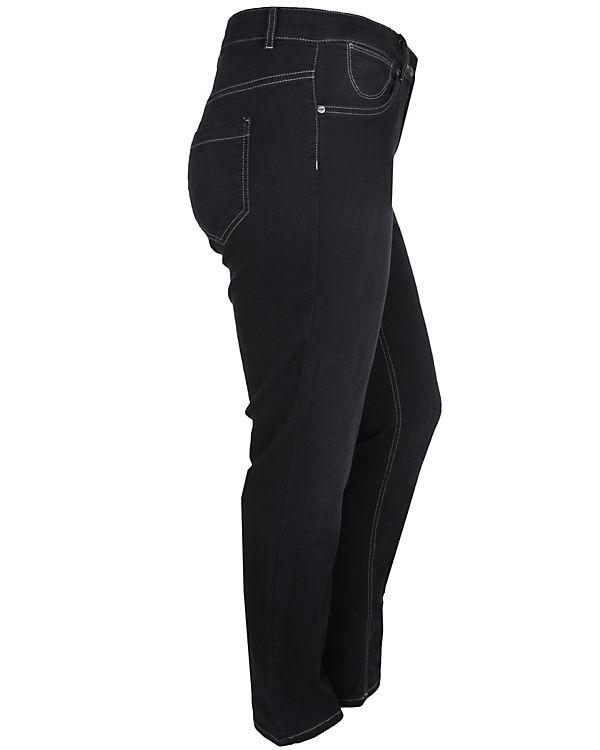 Doris Streich Jeans Super Stretch schwarz