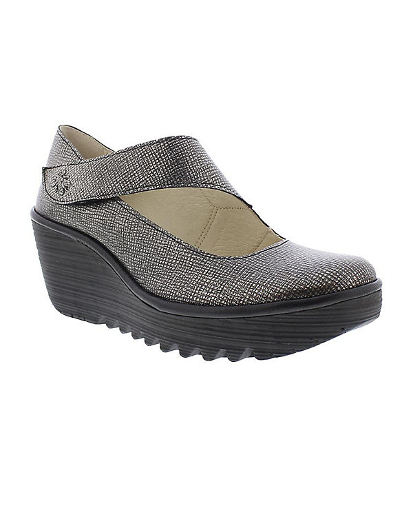 FLY LONDON Pumps silber