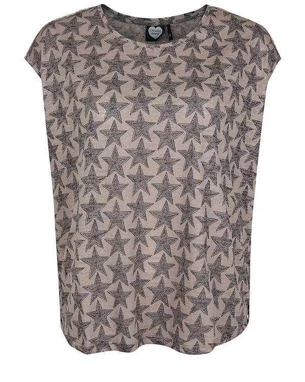 CATWALK JUNKIE T-Shirt Fairfax braun-kombi