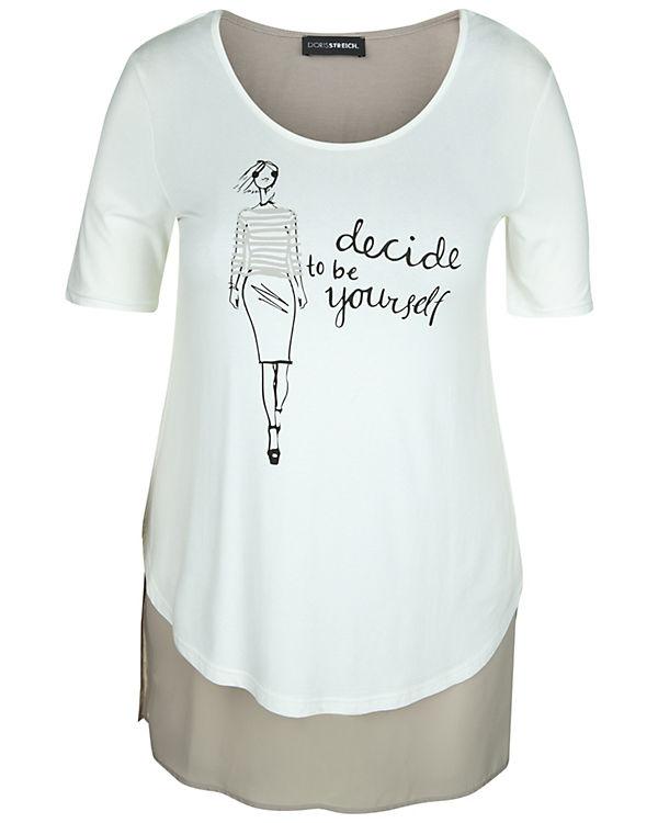 Doris Streich T-Shirt weiß