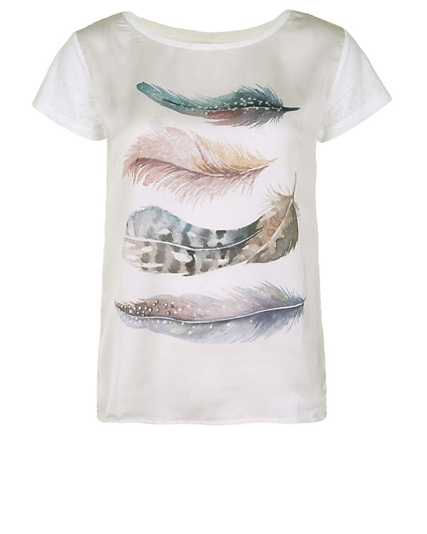 CATWALK JUNKIE T-Shirt Water Colour offwhite