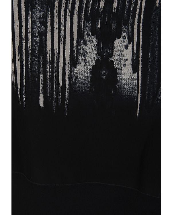 Doris Streich Jerseykleid 2 in 1 schwarz-kombi