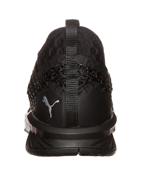 PUMA Ignite XT Netfit Sportschuhe schwarz/weiß