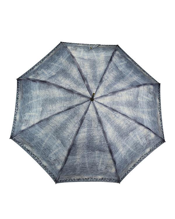 ESPRIT ESPRIT Long AC Regenschirm blau