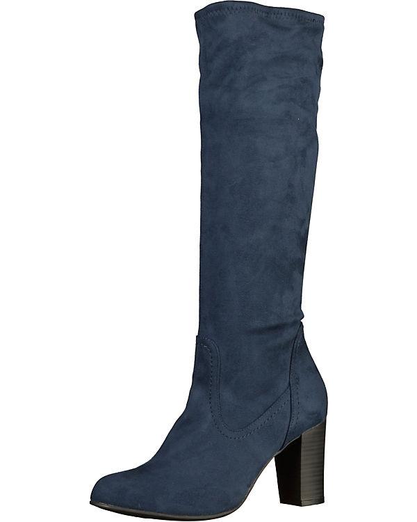 CAPRICE Stiefel Kaltfutter dunkelblau