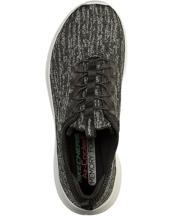 SKECHERS Sneakers schwarz-kombi