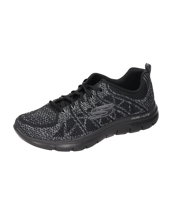 SKECHERS Sneakers Damen Sneaker schwarz