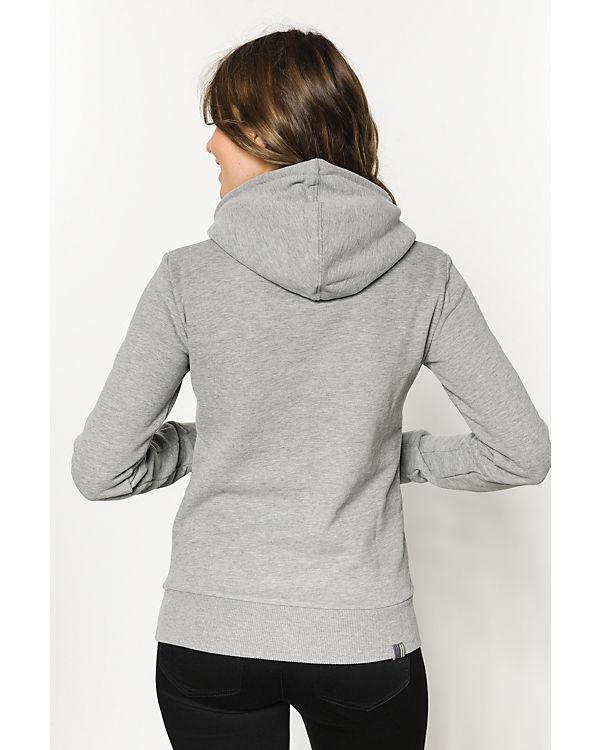 BENCH Sweatshirt grau