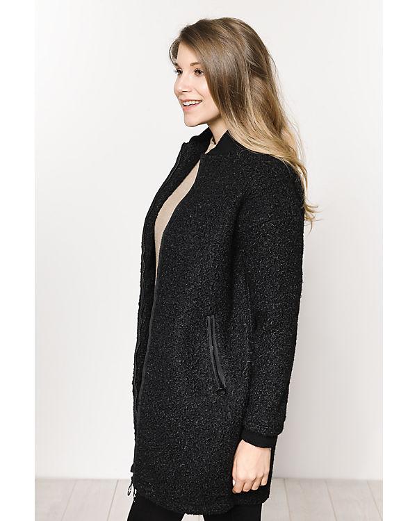 BENCH Mantel schwarz