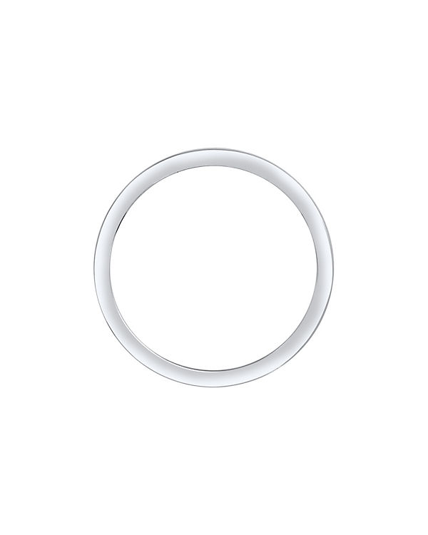 Elli Elli Ring Bandring Swarovski® Kristalle 925 Silber weiß