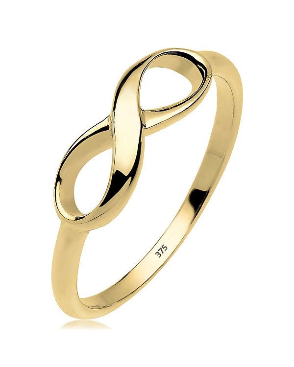 Elli PREMIUM Elli PREMIUM Ring Infinity Unendlichkeit 375 Gelbgold gold