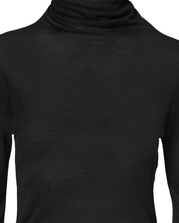 VERO MODA Rollkragenpullover schwarz