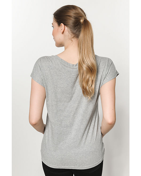 VERO MODA T-Shirt hellgrau