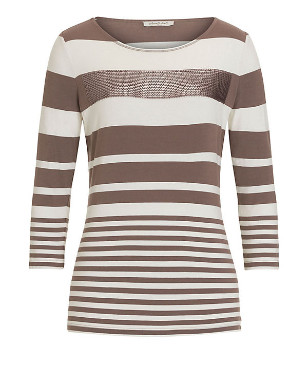 Betty Barclay 3/4-Arm-Shirt beige-kombi