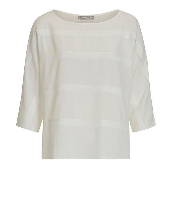 Betty & Co 3/4-Arm-Shirt weiß
