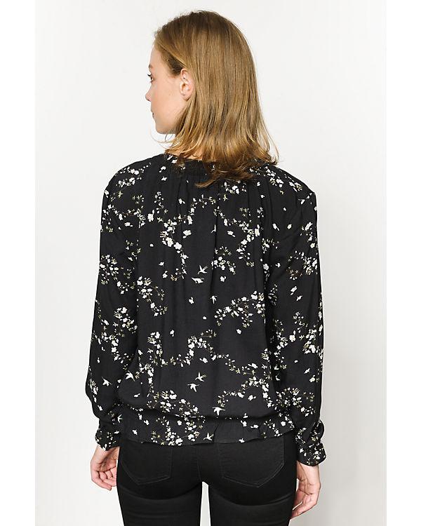 ONLY Bluse schwarz-kombi