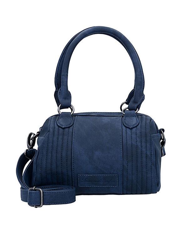 Fritzi aus Preußen Esteva Canvas Handtasche blau