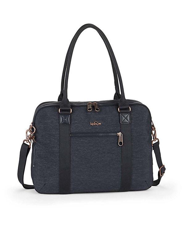 Kipling Basic Plus Neat Schultertasche Laptopfach blau