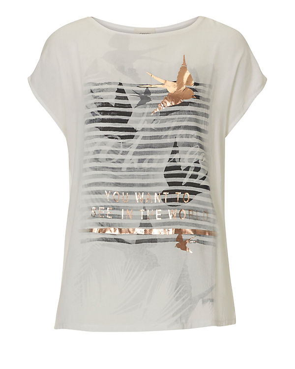 Cartoon T-Shirt weiß