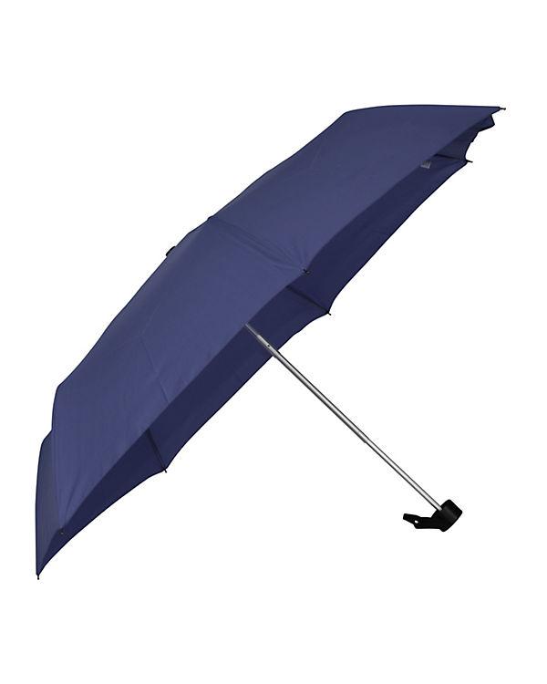 Happy Rain Regenschirm Happy Rain Alu Light blau