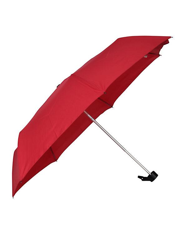Happy Rain Regenschirm Happy Rain Alu Light rot