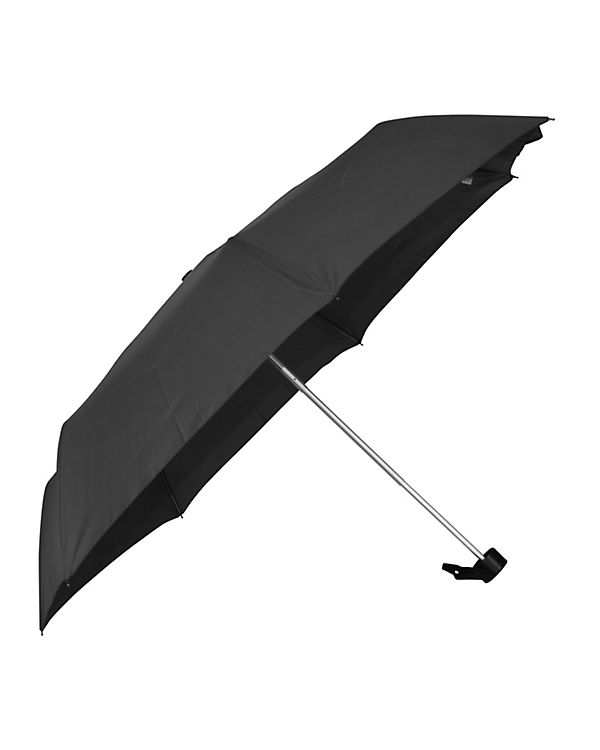 Happy Rain Regenschirm Happy Rain Alu Light schwarz