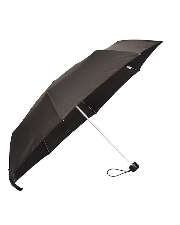 Happy Rain Regenschirm Happy Rain Alu Light schwarz