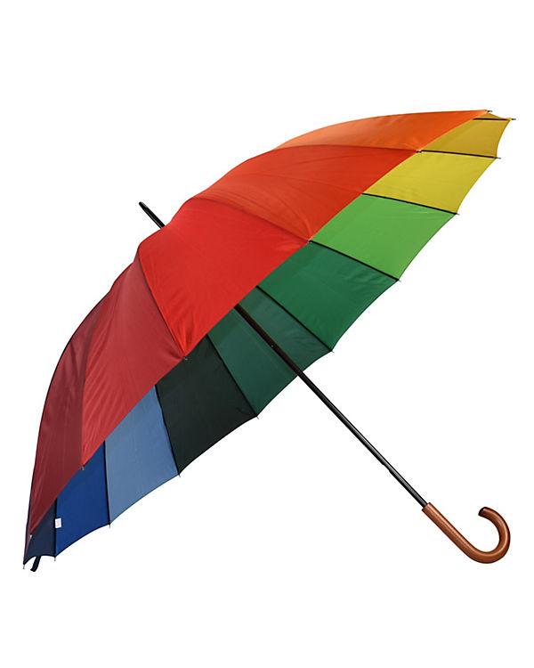 Happy Rain Regenschirm Happy Rain Golf AC bunt