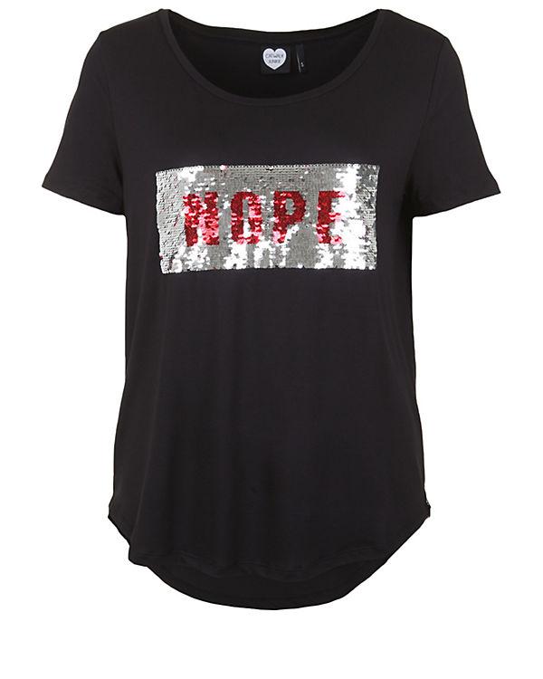 CATWALK JUNKIE T-Shirt YES NOPE schwarz
