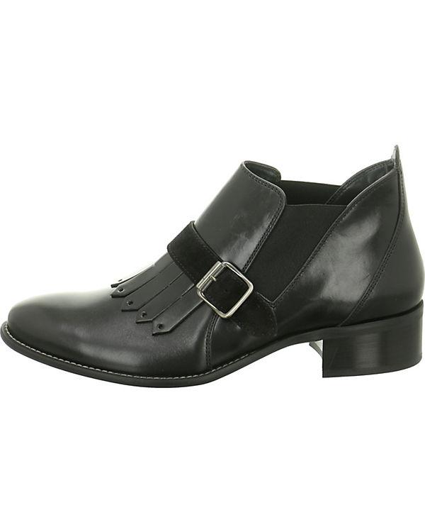 Klassische Stiefeletten schwarz