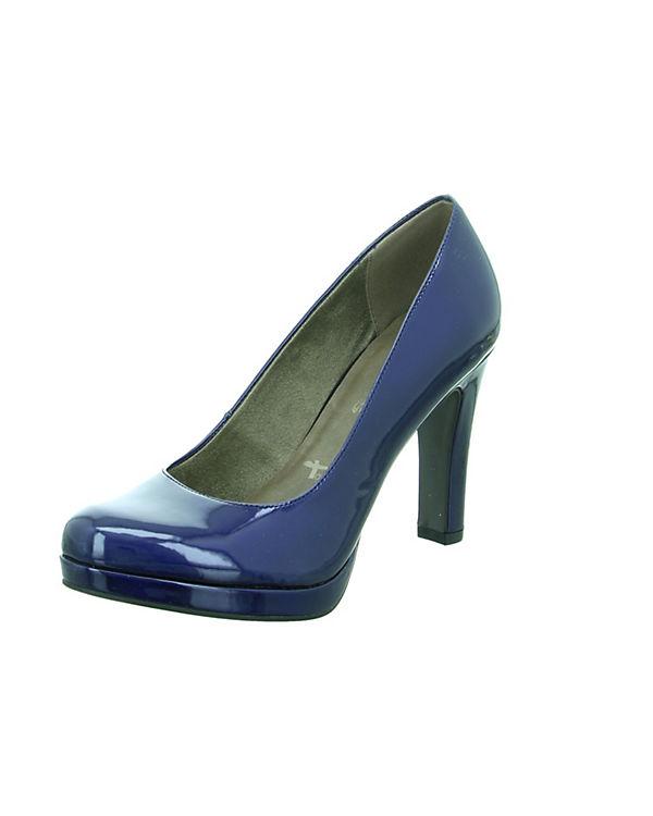 Klassische Pumps blau