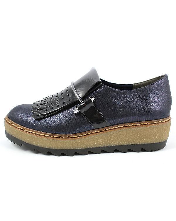 Klassische Slipper blau