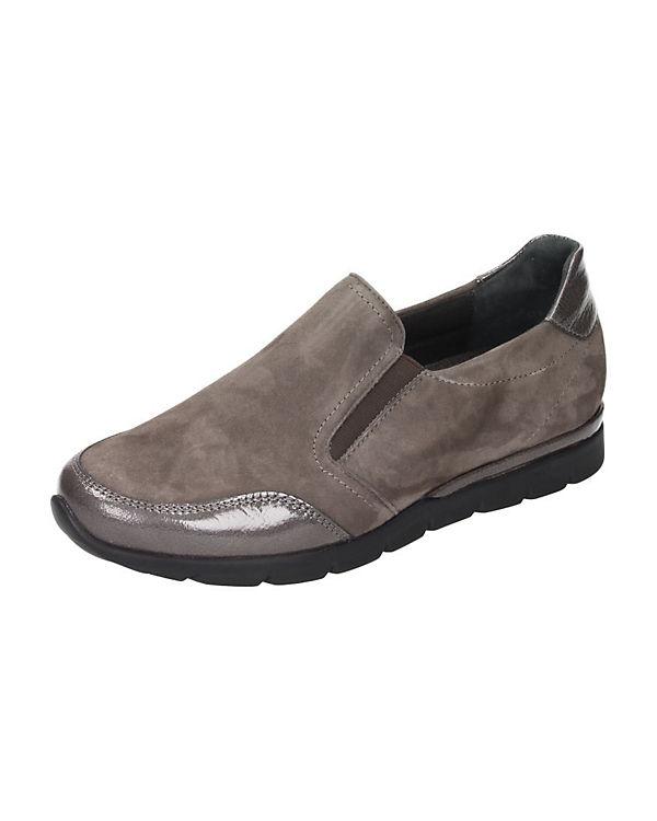 Klassische Slipper grau