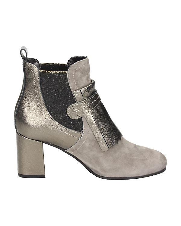 Klassische Stiefeletten grau
